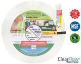 Clear Flow® Water Hose 8-Inch/75-Feet