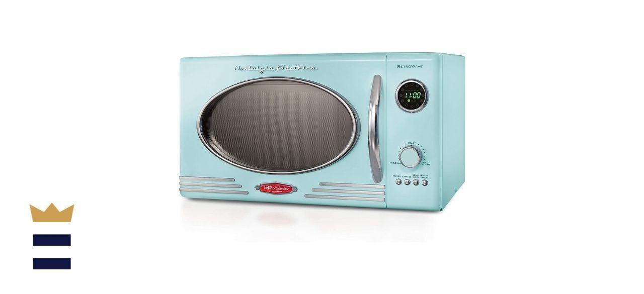 Nostalgia Retro Large Countertop Microwave