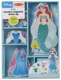 Melissa & Doug Disney Ariel Magnetic Dress-Up Wooden Doll Pretend Play Set