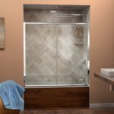 DreamLine Visions Framed Sliding Tub Door