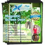 Flux Phenom Reinforced Magnetic Screen Door,  38 by 82 Inches