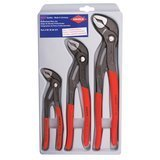 "KNIPEX Tools Cobra Pliers 7, 10, and 12"" Set"