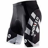Sponeed Men's Padded Cycling Shorts