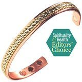 Earth Therapy Pure Copper Bracelet for Arthritis, Carpal Tunnel, and Joint Pain