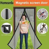 Homearda Magnetic Full-Frame, 34 by 82 Inches