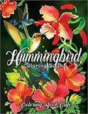 Coloring Book Cafe Hummingbird Coloring Book