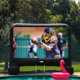 VIVOHOME Outdoor Inflatable Blow-Up Screen
