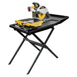 DEWALT Wet Tile Saw with Stand (10 inch)