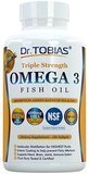 Dr Tobias Triple Strength Omega 3 Fish Oil