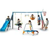 FITNESS REALITY KIDS The Ultimate 8-Station Swing Set