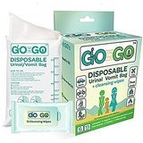 Go On The Go Disposable Urinal and Vomit Travel Bag