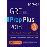 Kaplan Test Prep GRE Prep Plus 2020