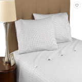 Modern Living Organic Dotted Line 300 Thread Count Sheet Set