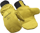RefrigiWear Fleece-Lined Cowhide Gloves