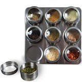 Uncluttered Designs Intergalactic Magnetic Spice Rack