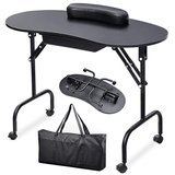 Yaheetech Portable and Foldable Manicure Table