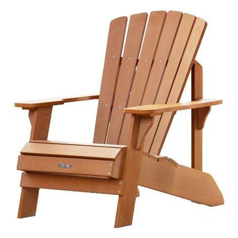 Faux Wood Adirondack Chair