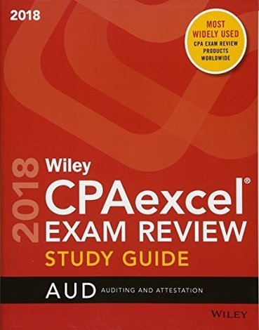 CPAexcel Exam Review April 2017 Study Guide Auditing And Attestation